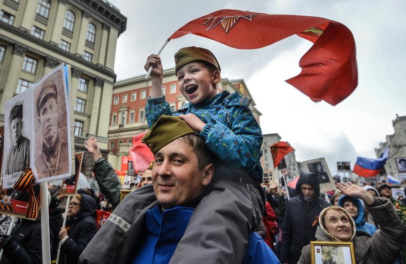 Около десяти миллионов человек примут участие в мероприятиях в честь Дня Победы