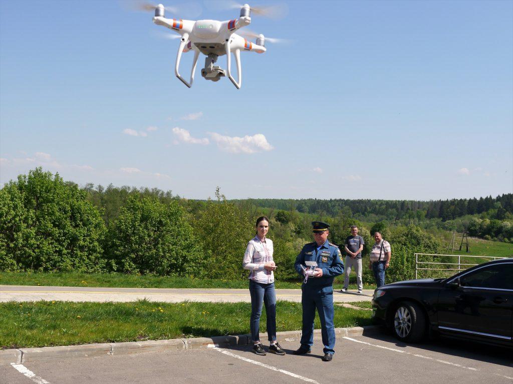 Воздушный мониторинг и профилактические рейды  в новой Москве в местах массового отдыха и лесопарковых зонах