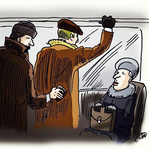 Сотрудники полиции УВД по ТиНАО предупреждают и информируют жителей Новой Москвы: как не стать жертвой грабителей