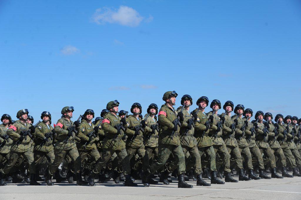 Министерство обороны создало инфографику парада Победы