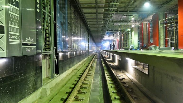 Станцию метро «Рассказовка» подготовили на 98 процентов