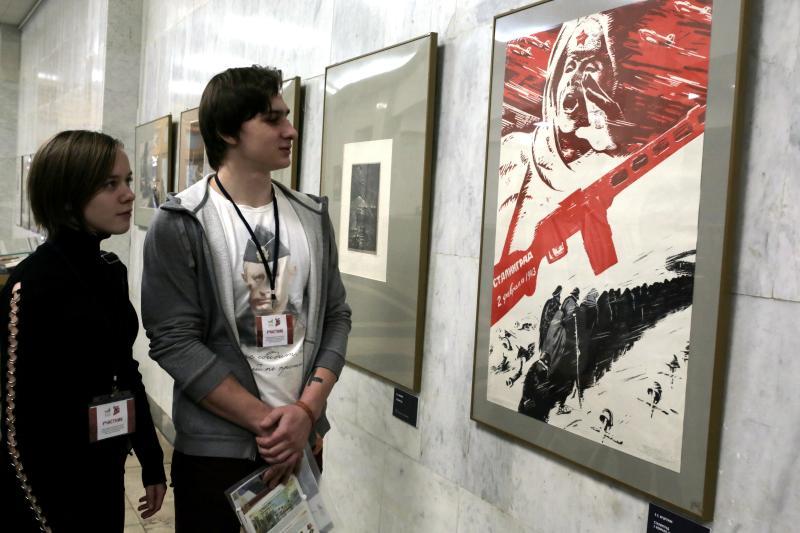Музей Победы посетили более десяти тысяч человек