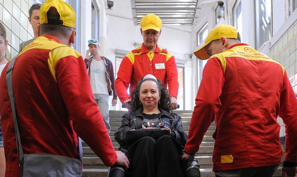 Московские инспекторы ЦОМП встретят болельщиков ЧМ — 2018