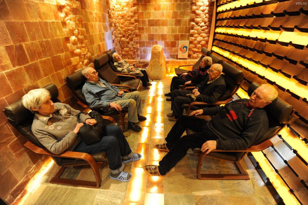 Специальные «комнаты прохлады» начали работать в Москве. Фото: Светлана Колоскова, «Вечерняя Москва»
