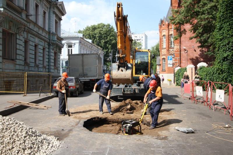 Около десяти тысяч квадратных метров дорог отремонтировали в Щербинке