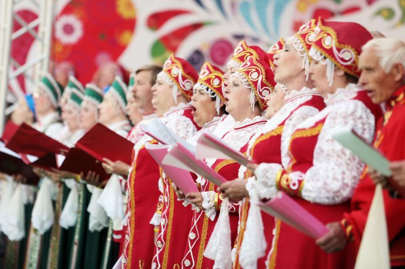Народное хоровое пение: Фото: архив, «Вечерняя Москва»