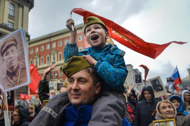 Миллион человек пройдет по главным столичным улицам в рамках акции «Бессмертный полк»