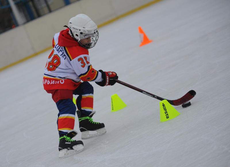 Хоккейную площадку установят в Кокошкино