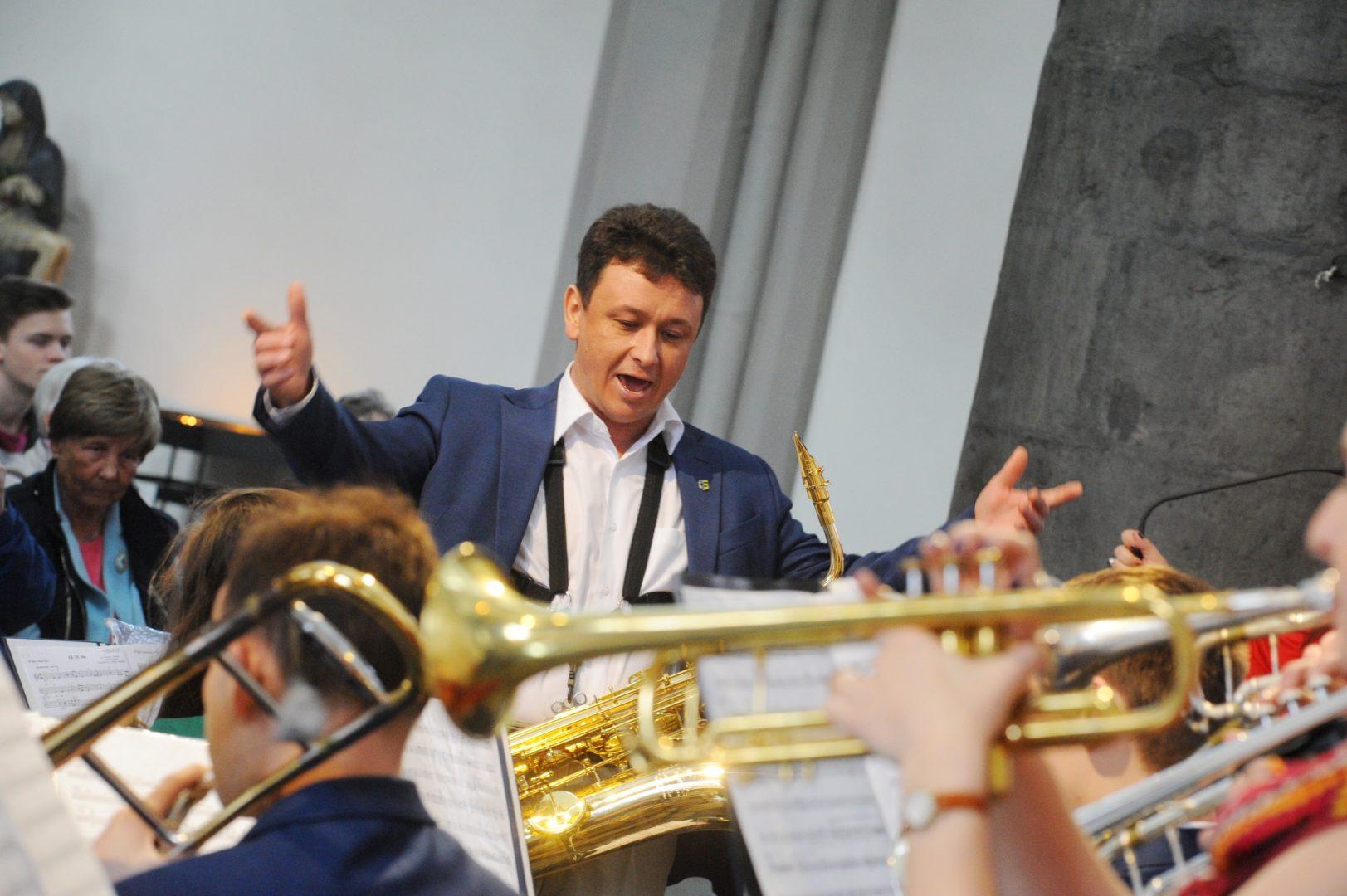В ритме музыки: артисты из Троицка побывали на гастролях в Германии. Фото: Александр Кожохин, «Вечерняя Москва»Григорий Герасимов