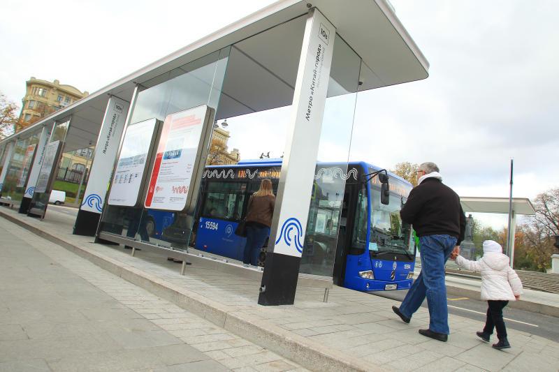 Остановки общественного транспорта привели в порядок в Рязановском