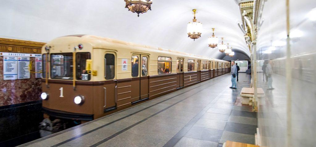 Парад поездов пройдет на Кольцевой линии московского метро