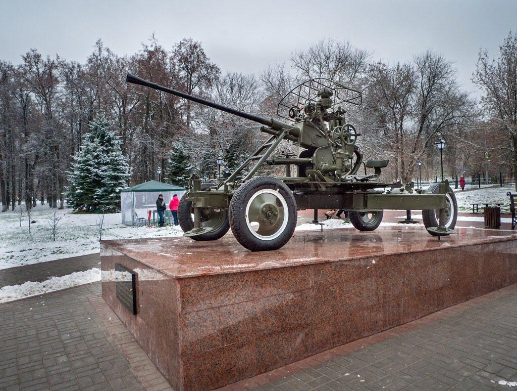 Памятник «Оружие Победы» в Щаповском. Фото: Владимир Нарожный