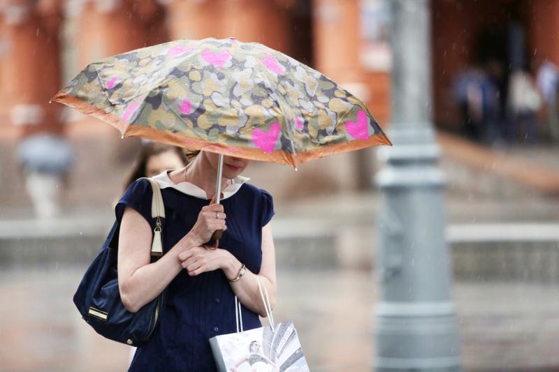 Выходные принесут в Москву дождь с грозой