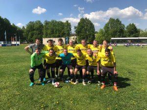 Основной состав футбольной команды «Десна». Фото: Футбольный клуб «Десна»