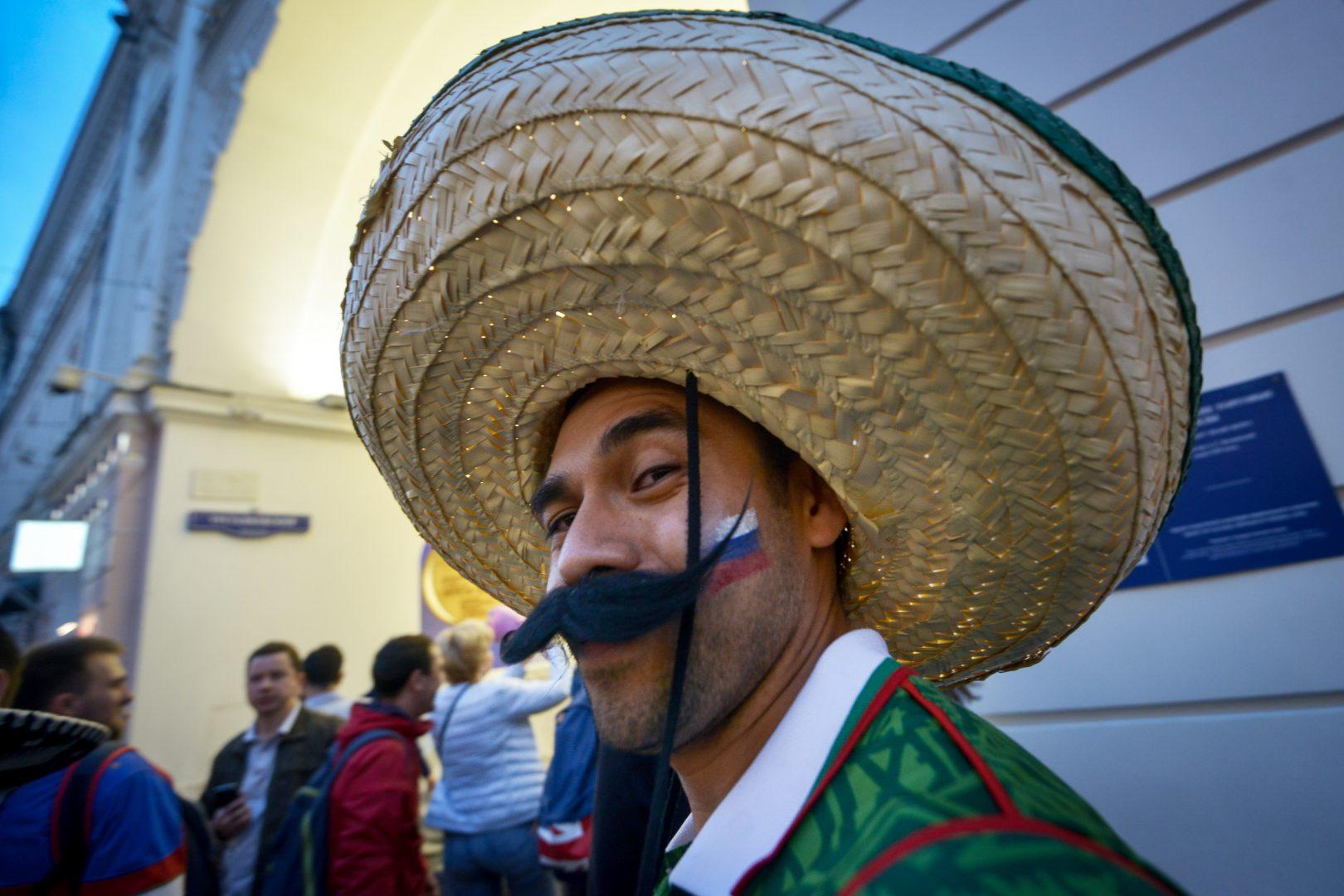 Болельщиков призвали смотреть матч Россия – Уругвай вне фан-зоны. Фото: Наталья Феоктистова, «Вечерняя Москва»