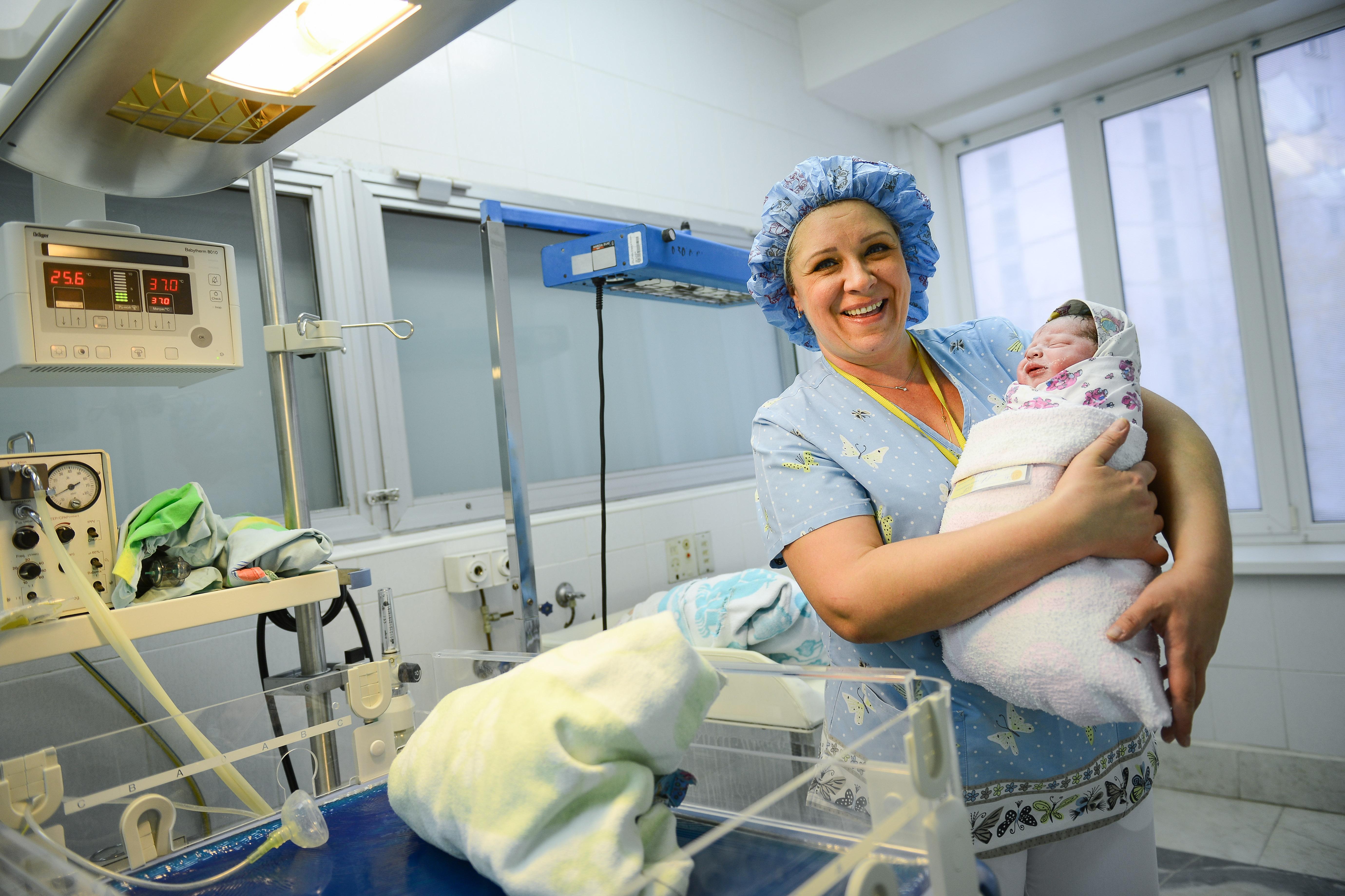 Статистика рождаемости в Краснопахорском улучшилась в 2018 году