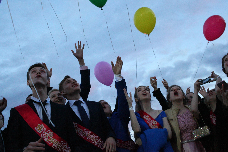 Парк Горького закрыли на сутки из-за выпускного вечера