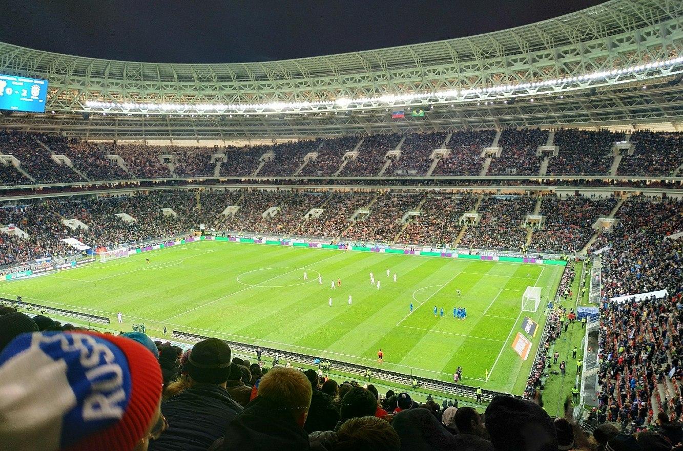 Спортивный комплекс «Лужники». Фото: Роман Солдатов