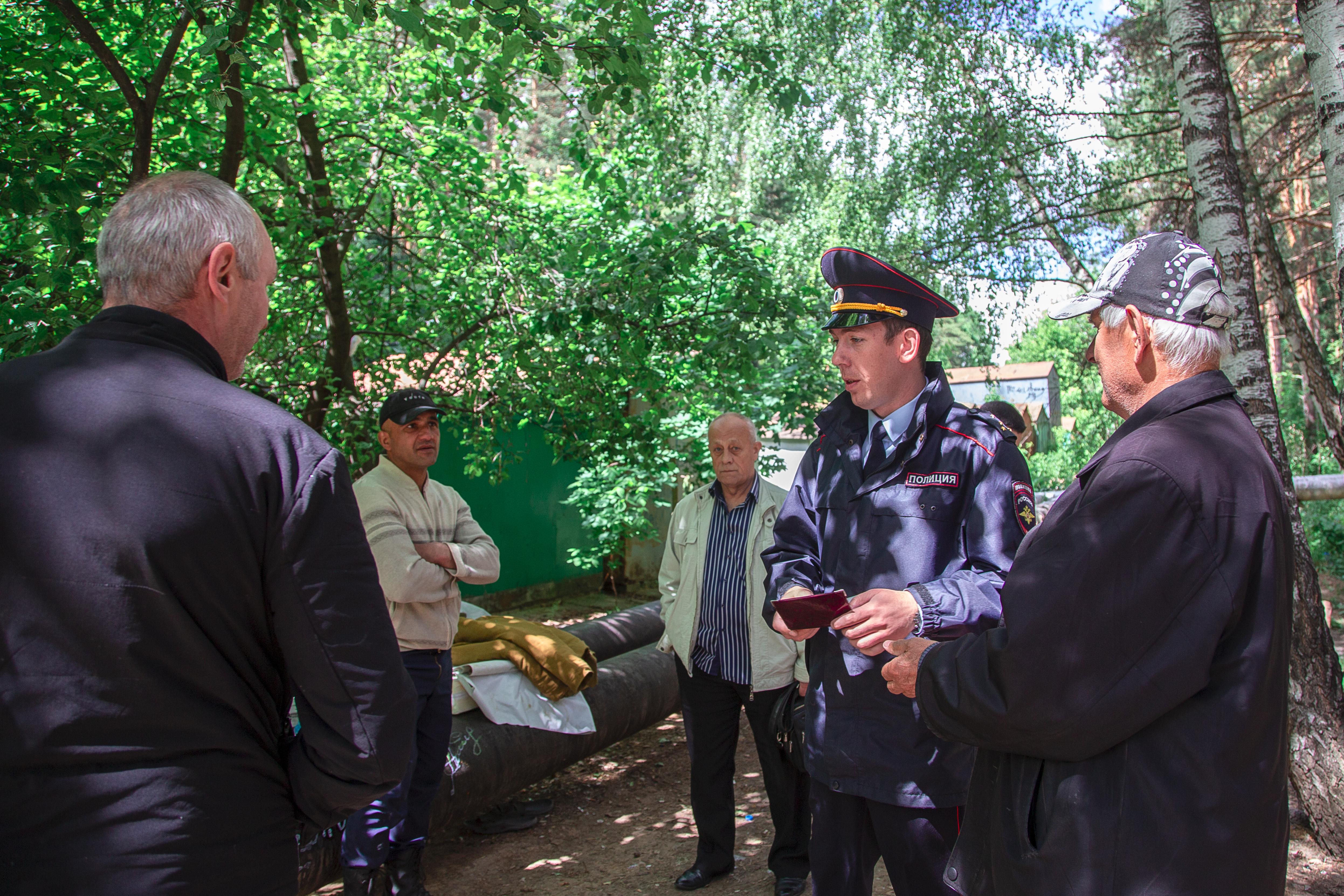 Профилактический рейд лесопарковых зон ТиНАО