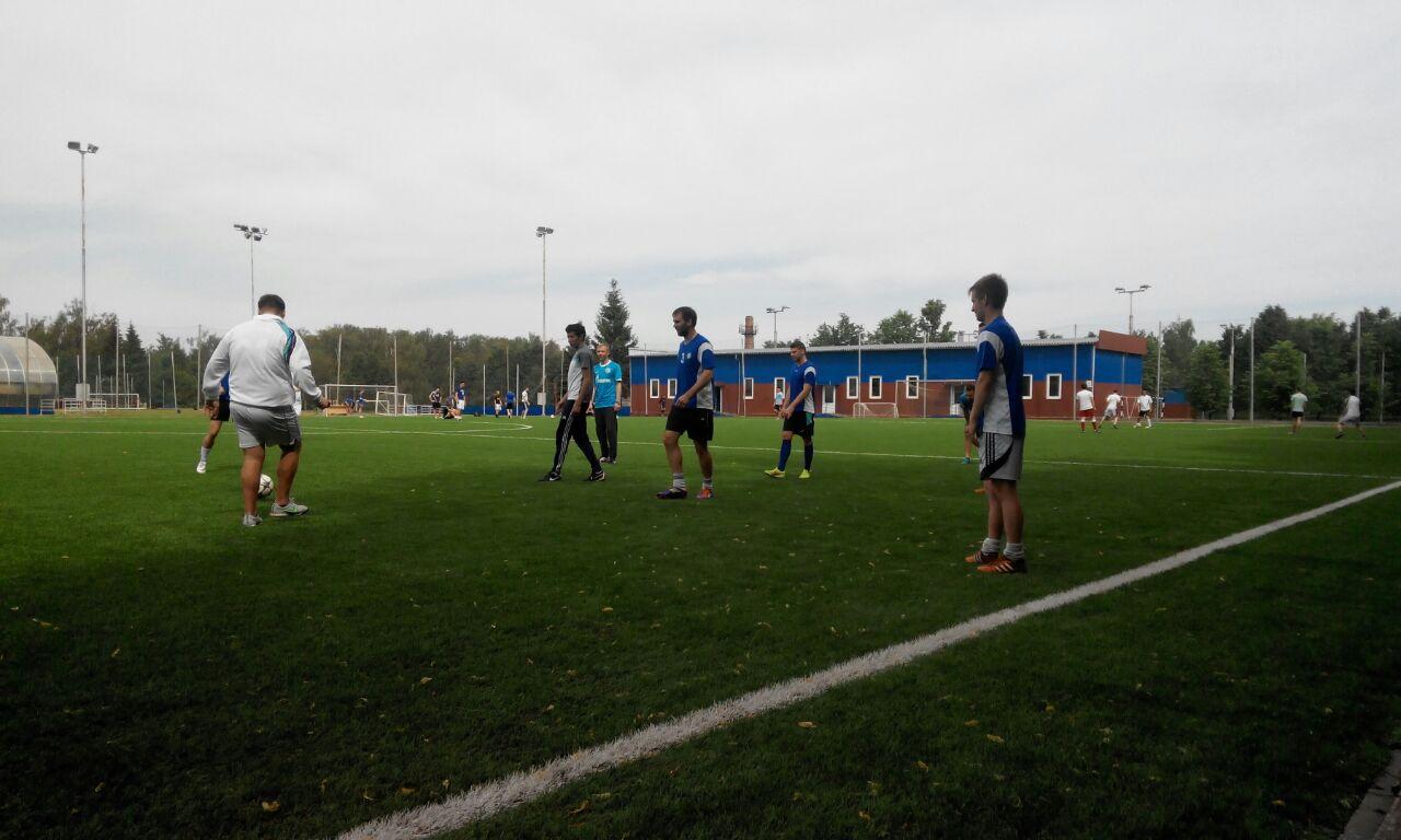 Основной состав команды «Новые Ватутинки». Фото: Футбольная команда «Новые Ватутинки»