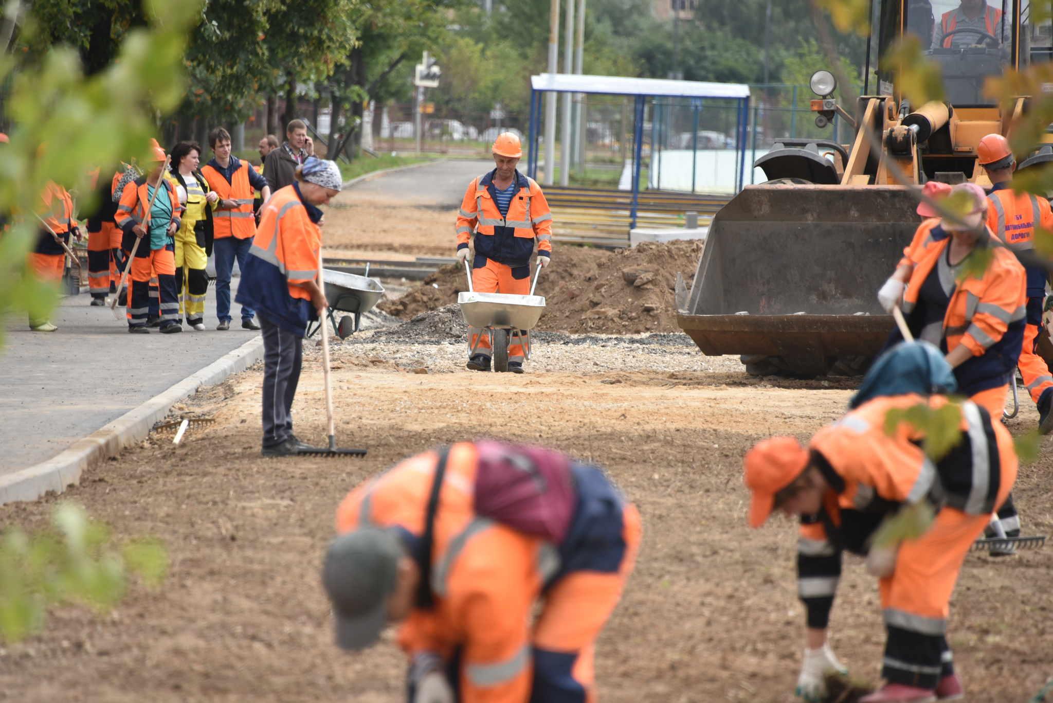 Дорогу к Дудкино и прилегающим садоводческим товариществам построят в конце 2018 года