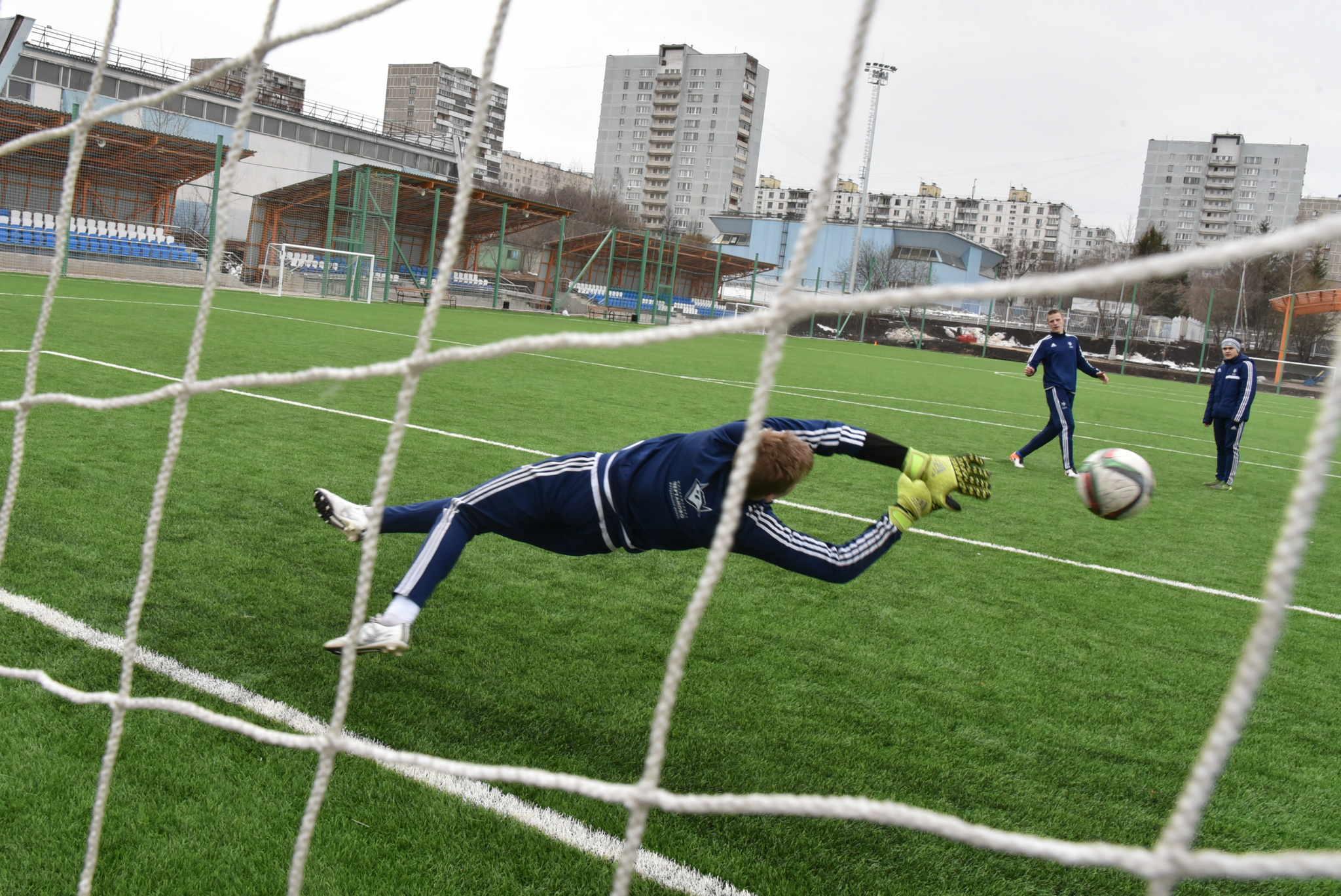 Футбольное поле появится в Новой Москве до 2020 года. Фото: Владимир Новиков, «Вечерняя Москва»