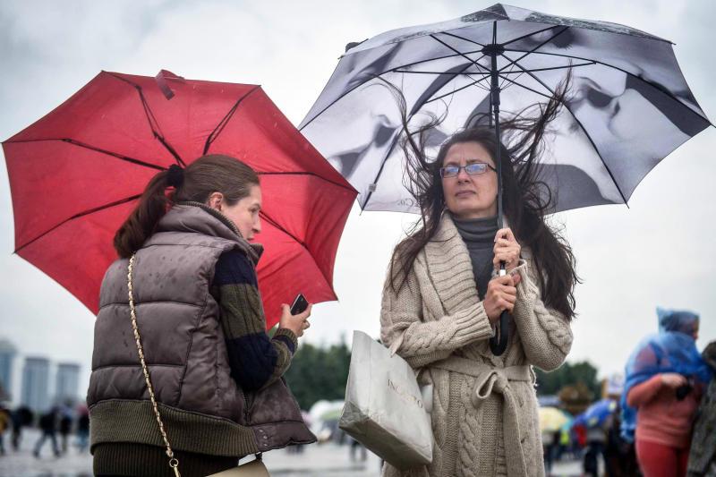 Дожди с грозами придут в Москву