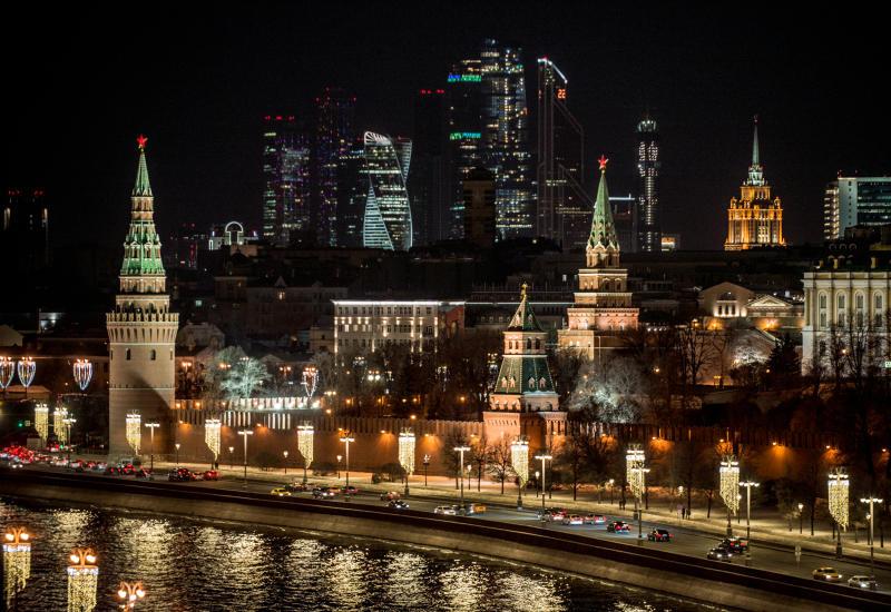 Небольшой дождь пройдет по московским улицам