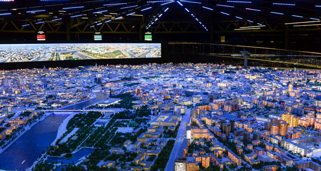 Новые интерактивные киоски установили в павильоне «Макет Москвы»