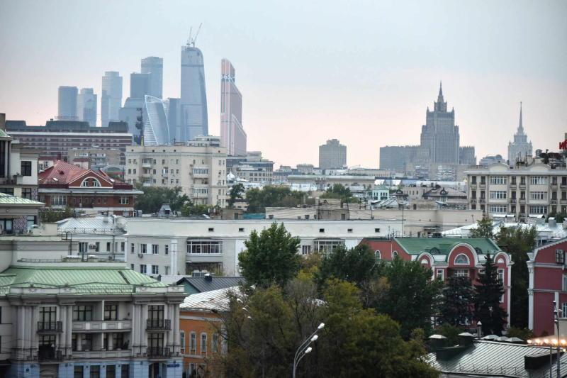 Дождливая погода сохранится в Москве. Фото: Владимир Новиков