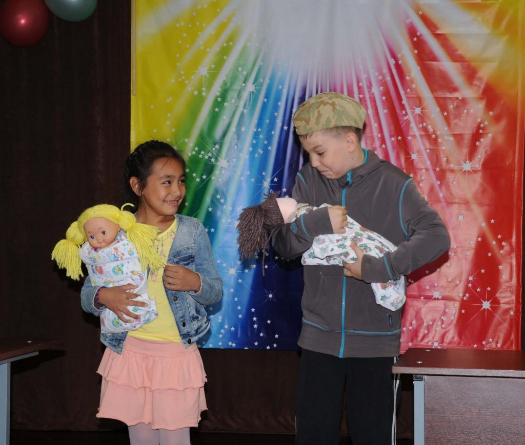 Программа для детей «Девчонки-мальчишки» прошла в Щербинке