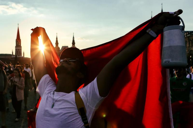Фан-зоны Чемпионата мира в России посетило более миллиона человек. Фото: архив, «Вечерняя Москва»