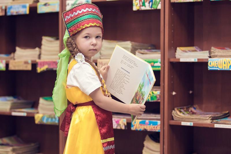 Дети в библиотеке. Фото: ЦБС «Новомосковская»