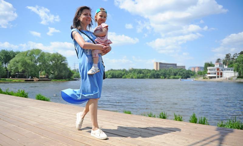 Почти десять процентов территории Новой Москвы превратят в парки. Фото: архив, «Вечерняя Москва»