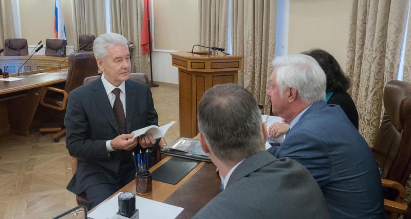 Собянин подал документы на участие в выборах мэра в качестве самовыдвиженца