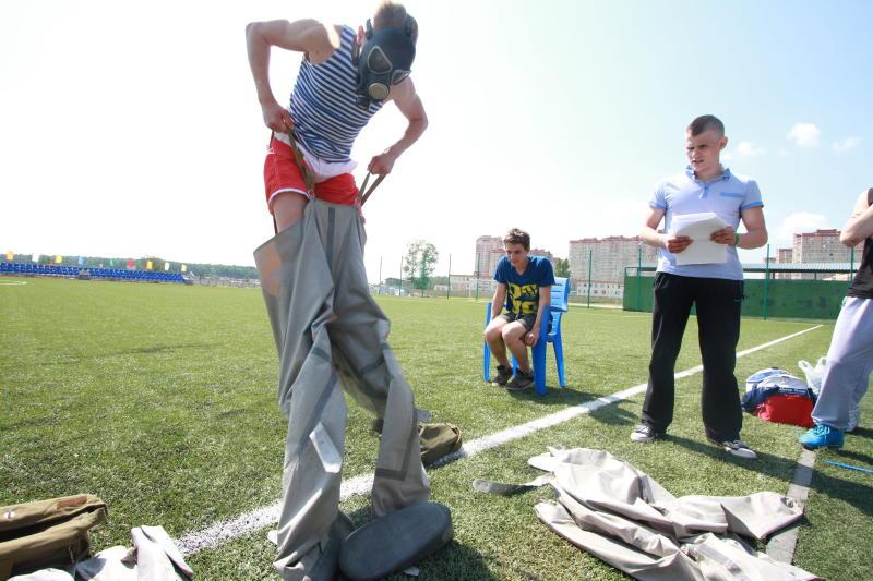 Военно-спортивный слет проведут в Десеновском