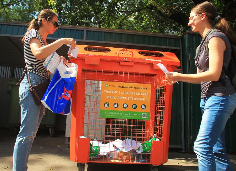 Новые площадки для сбора мусора обустроят в Кленовском