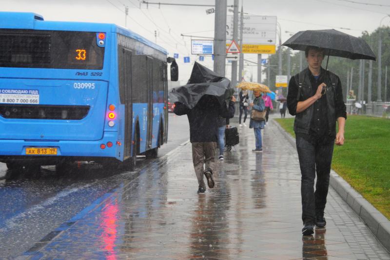 Синоптики пообещали дождливую погоду во вторник