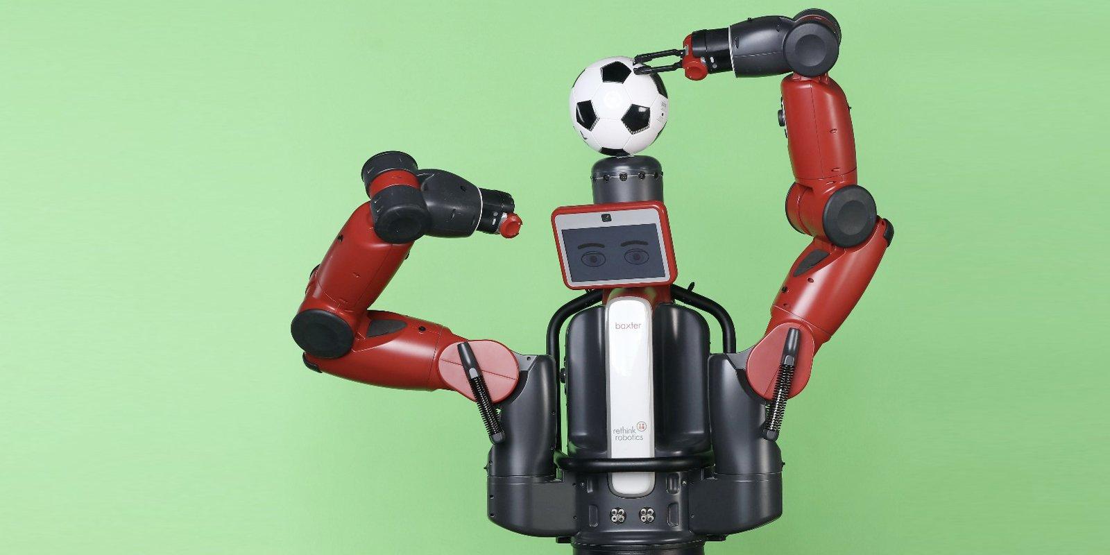 Московский робот Бакстер сделает прогноз на матч Россия - Саудовская Аравия
