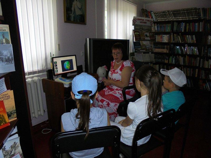 Мы живем на планете Земля: в Краснопахорском для детей провели тематическую викторину