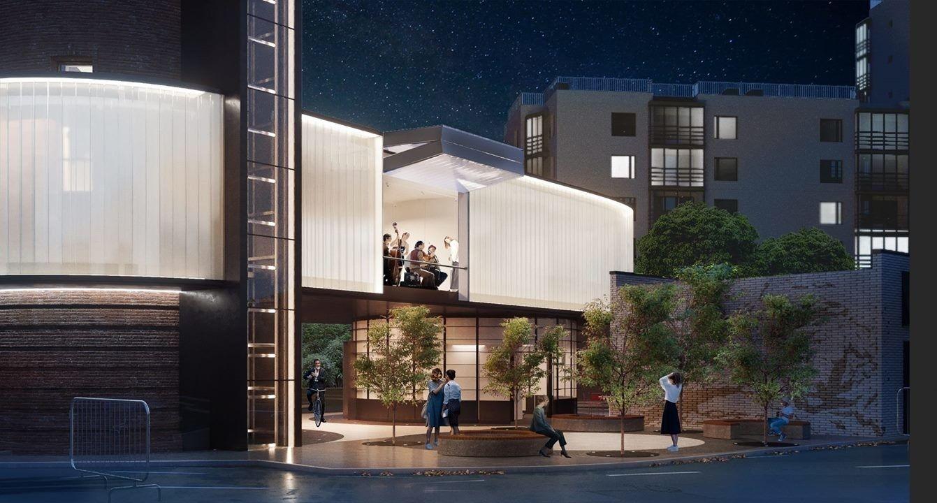 рабочем месте (2). Проект редевелопмента водонапорной башни в Щербинке, которая превра- тится в современ- ный культурный центр.