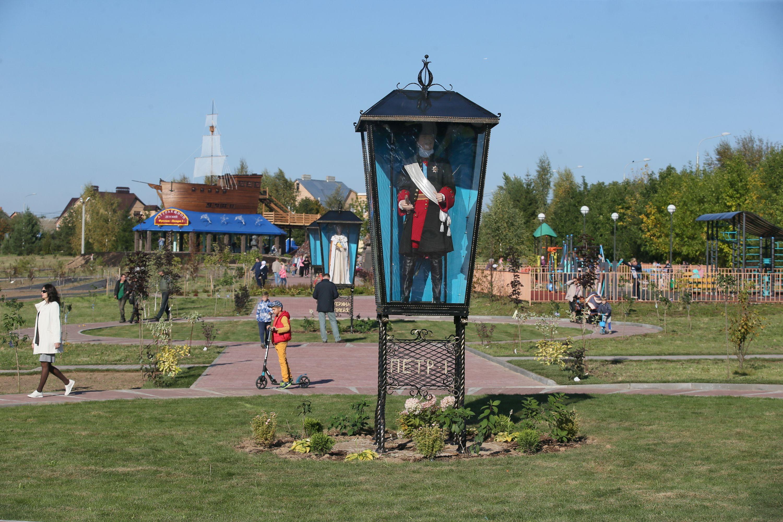 23 сентября 2017 года. Рогов- ское. Исторический парк в день своего открытия. Фото: Виктор Хабаров