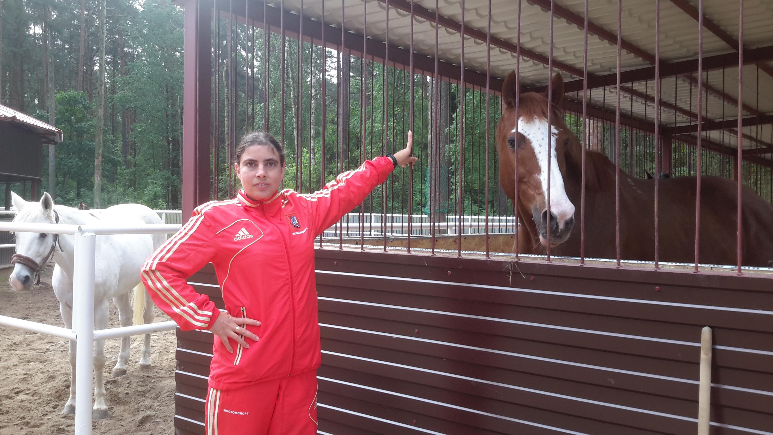 Жительница Троицка вошла в запасной состав сборной России по конному спорту