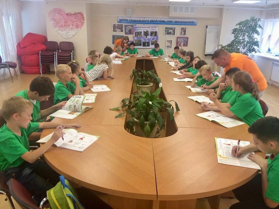 Цикл интерактивных мастер-классов запустили для детей из Московского