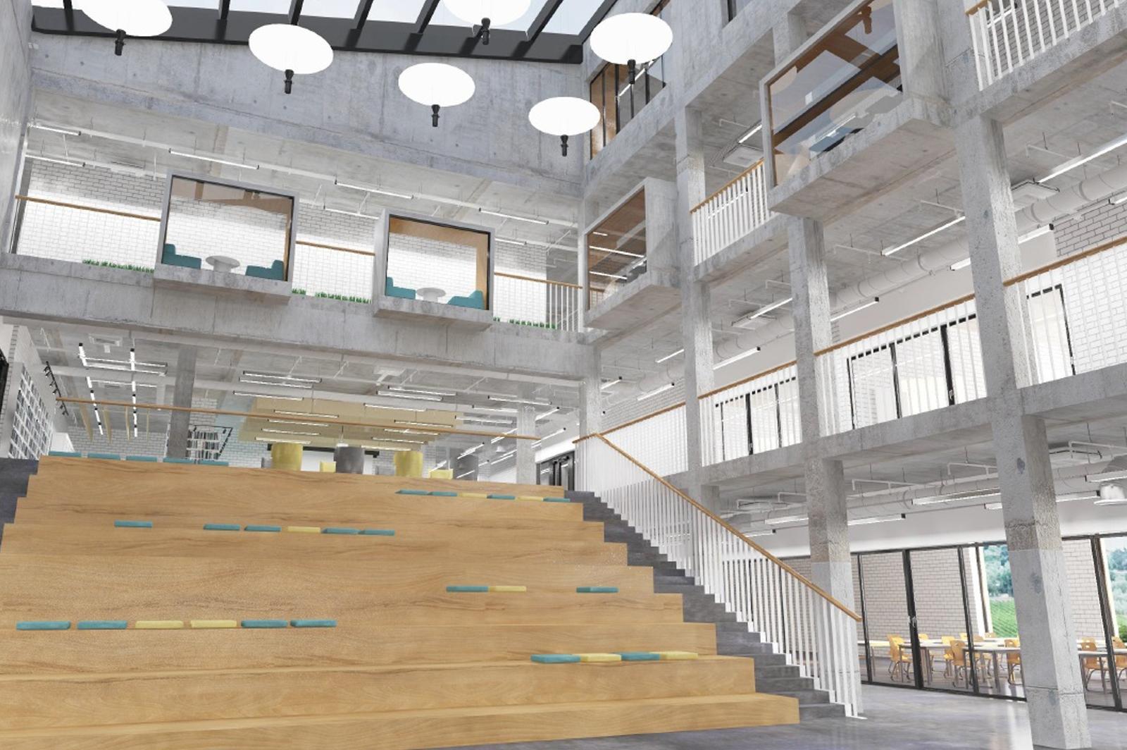 Образовательный центр с амфитеатром построят в Коммунарке