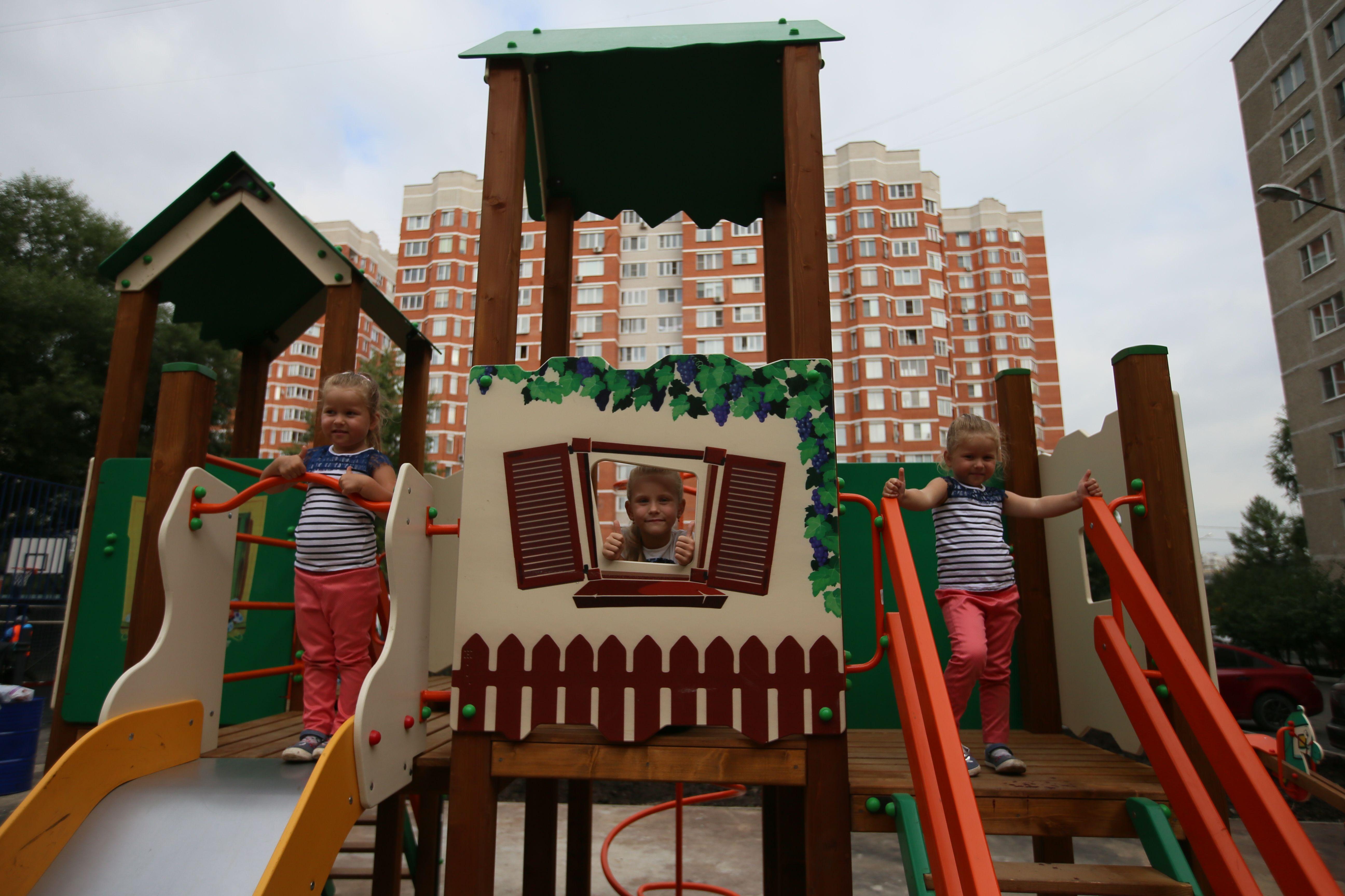 Верный ответ: Обустройство Детских городков завершат к августу