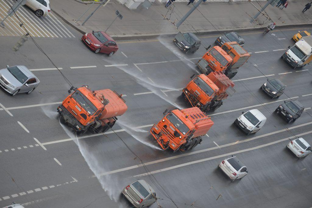 Коммунальные службы Москвы работали в три смены в период ЧМ