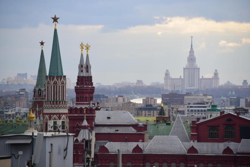Температура воздуха в Москве упадет до 10 градусов тепла