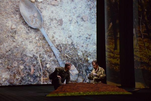 Спектакль «Ложка». Фото: администрация ДК «Первомайское»