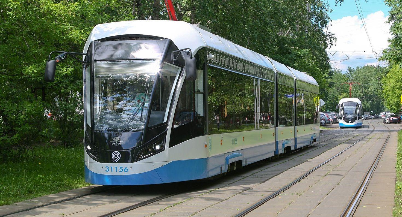 Трамваи «Витязь-М» перевезли миллион пассажиров за неделю